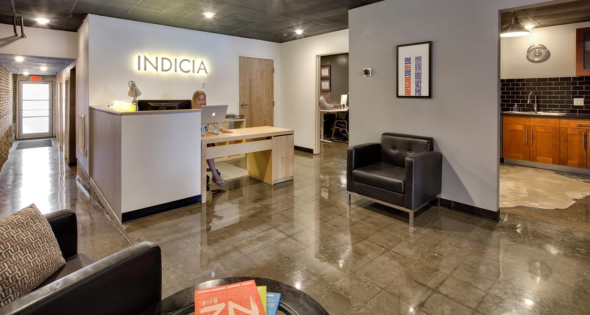 Indicia Design Location