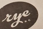 Branding Rye Restaurant Thumbnail