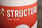 Branding Structure Protein Label Design 6