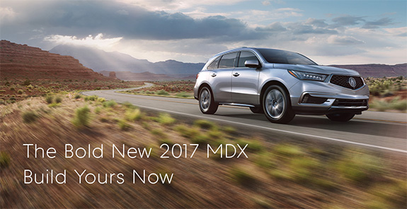 The Bold New Acura MDX
