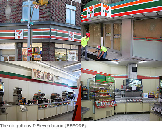 The old 7 Eleven Brand