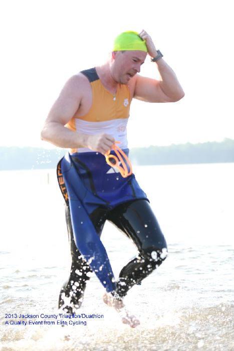 Josh Swimming