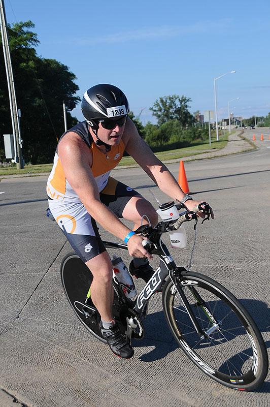 Josh Biking