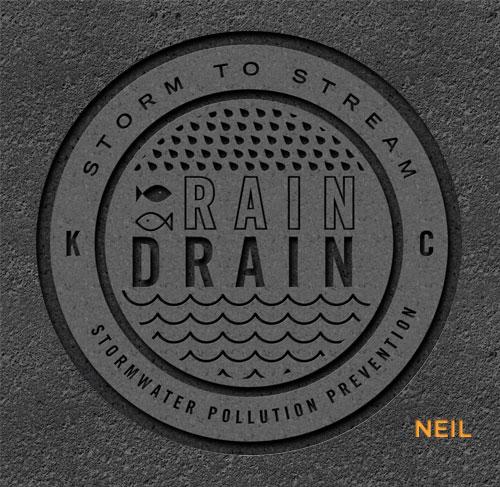 Neil Ryan storm drain cover concept