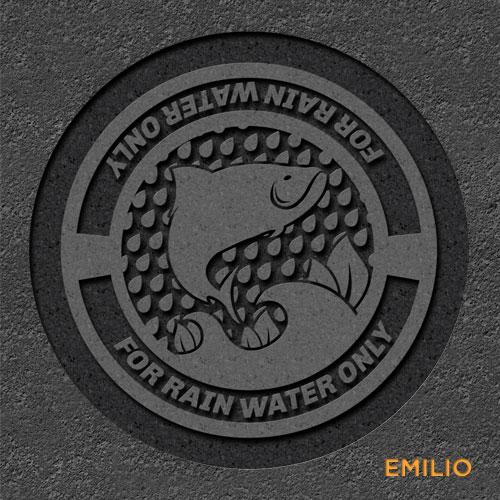 Emilio Servigon storm drain cover concept