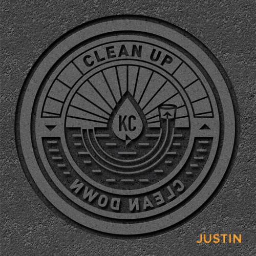 Justin Leatherman storm drain cover concept