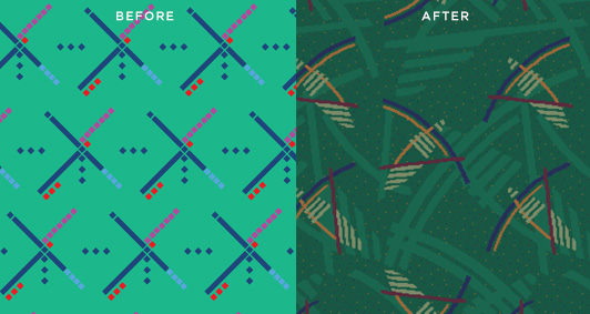 PDX carpet before and after