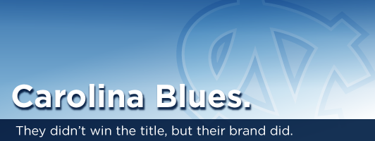 Carolina Blues. They didn't win the title, but their brand did.