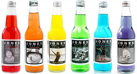 Jones Soda Packaging