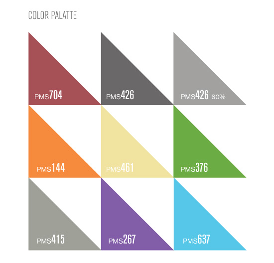 United Excel Color Palettes