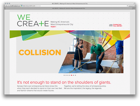 We Create Collision