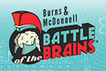 Branding Burns and McDonnell Battle of the Brains Animation