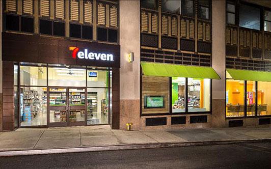 7 Eleven outside