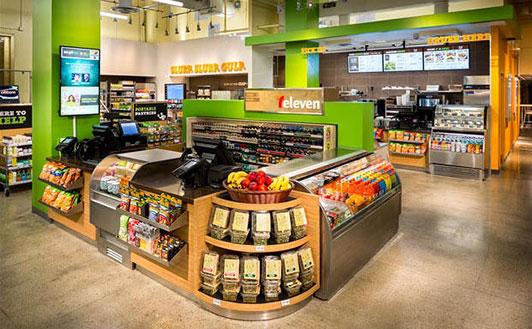 New 7 Eleven counter