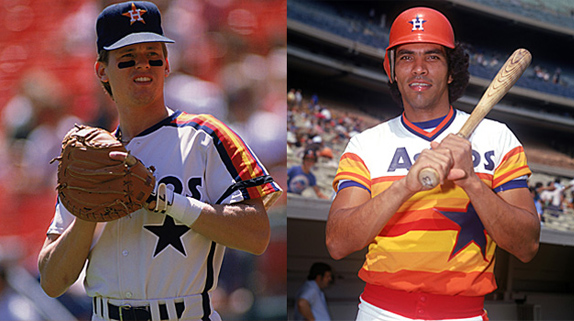 Houston Old Uniforms
