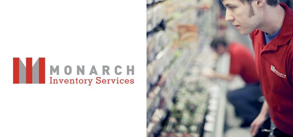 Branding Monarch Inventory Services Logo