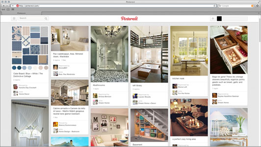 Pinterest Look and Feel