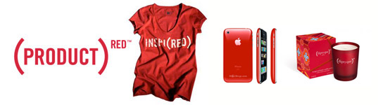 (Product)RED campaigns