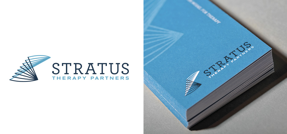 Branding Stratus Therapy Partners Logo