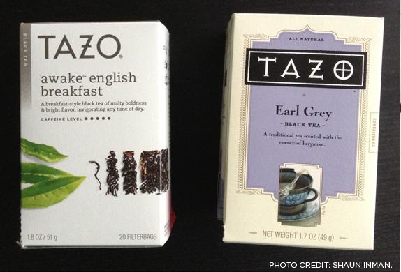 Tazo new vs. old