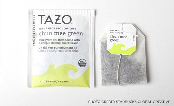 Tazo tea bags