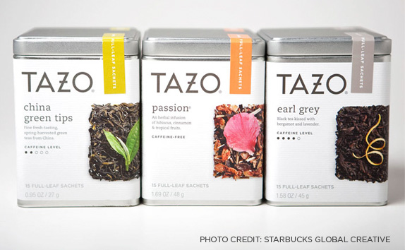 Tazo product line-up