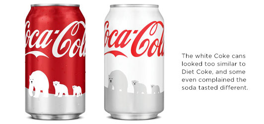 Coke Polar Bear Cans