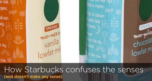 How Starbucks confuses the senses