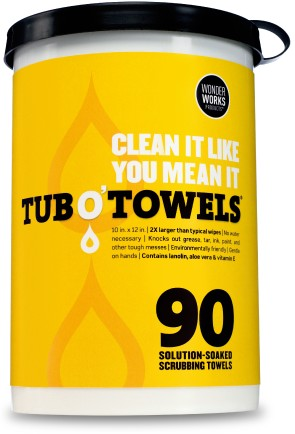 Tub O' Towels package